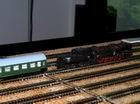 lokomotíva sa odpája a odchádza