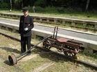 člen Železničného múzea v Starej Turej a jeden z ich exponátov