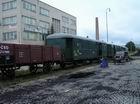 na stanici Myjava zase vo vozňoch mali koľajiská TT modelári z Vrútok a Komárna